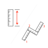 Ruler and Polygon Ruler