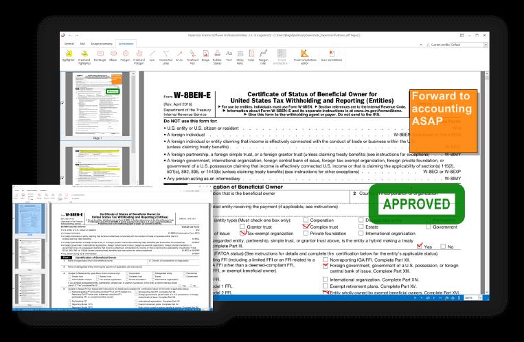 Resultado de imagen de ORPALIS PaperScan Professional Edition